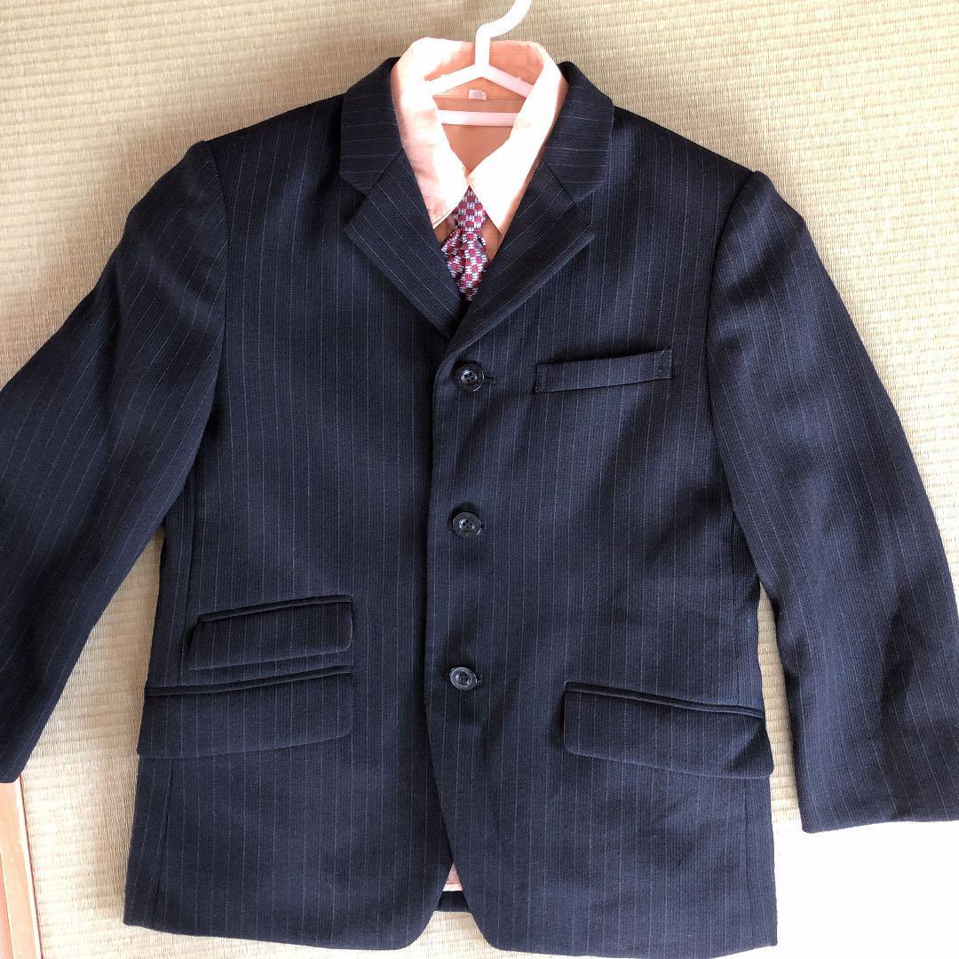 b7b35a0b148e3 メルカリ - 男の子 スーツ 120 コシノヒロコ  フォーマル ドレス ...