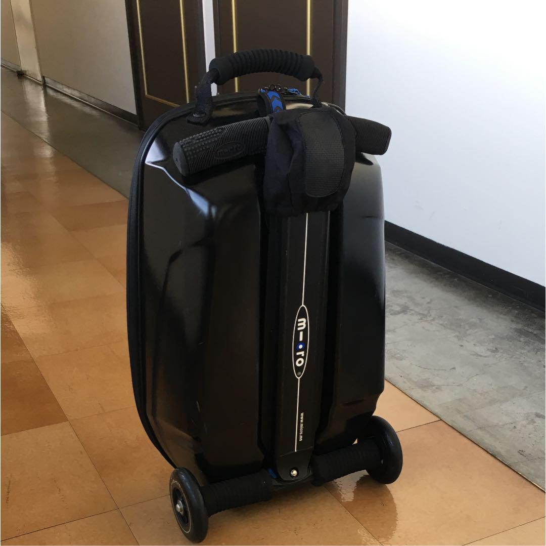 5015897949 メルカリ - マイクロラゲッジ (Micro Luggage)スーツケースxキックボード ...
