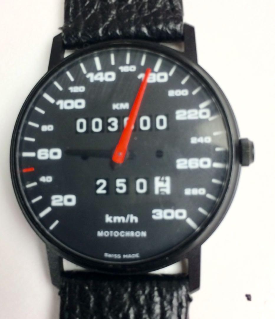 official photos 565cc f7a0f モトクロン ポルシェスピードメーター型腕時計(¥19,800) - メルカリ スマホでかんたん フリマアプリ