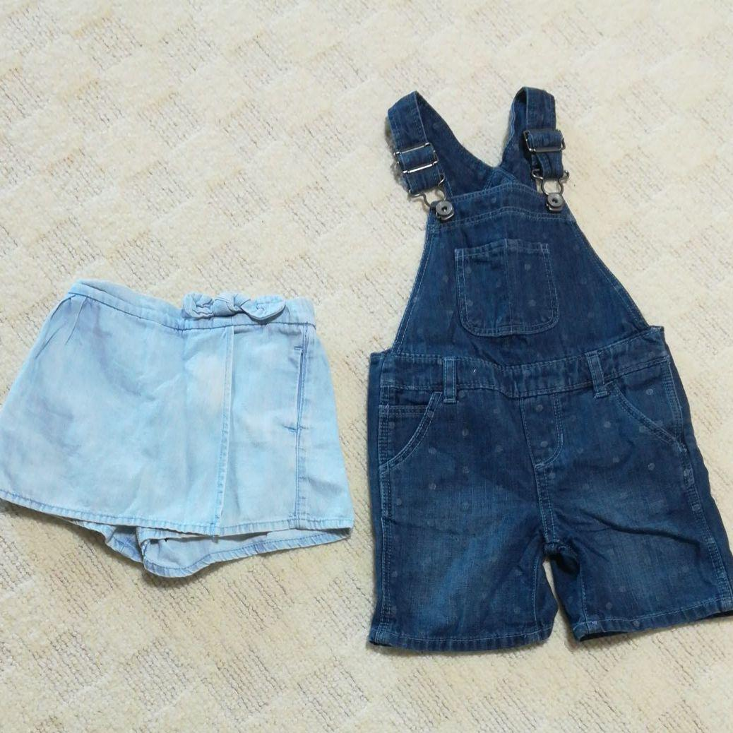 50b0bb8e23c3c メルカリ - 女の子子供服 babyGapサロペット オーバーオール 80サイズ ...