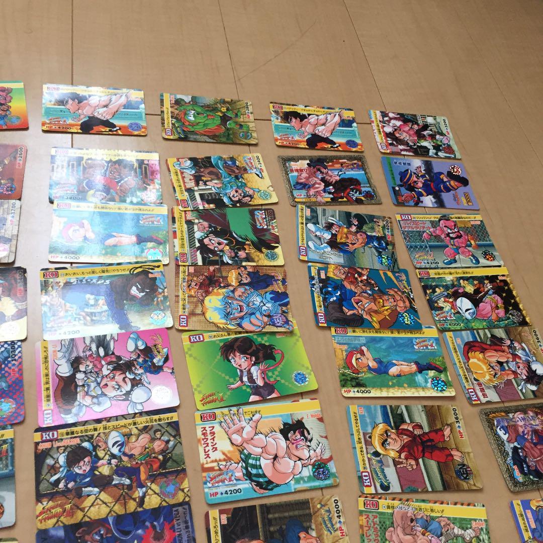 KO Street Fighter II Carddass 21