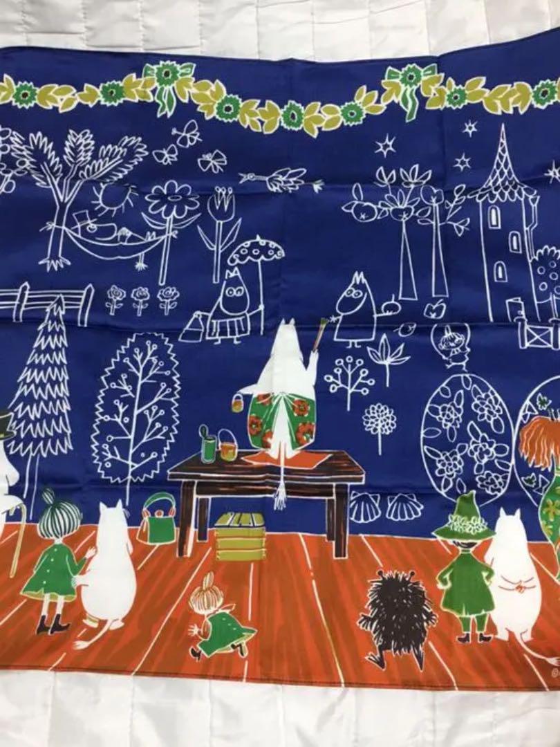 メルカリ ムーミン ママの壁紙 大判ハンカチ マリメッコ 1 500