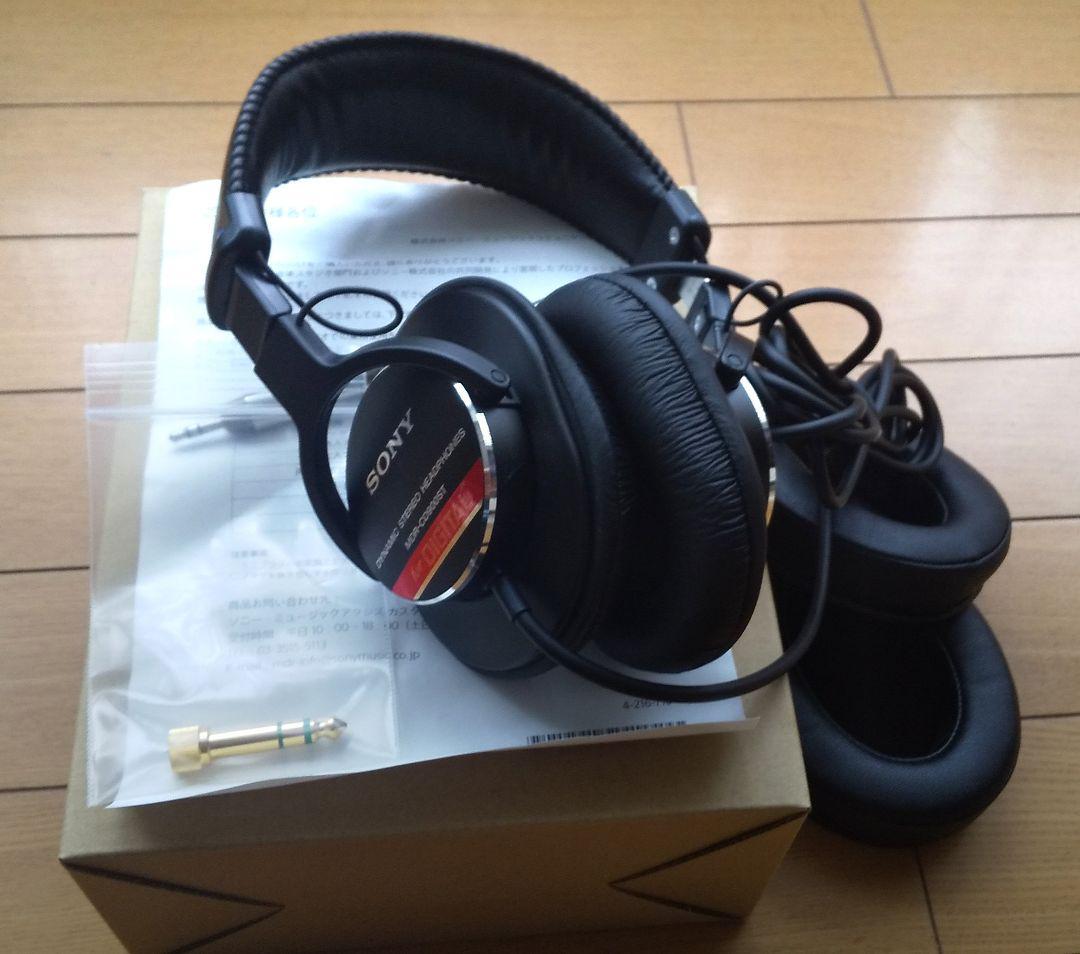 SONY MDR-CD900ST【超美品(使用頻度少)】オマケ付