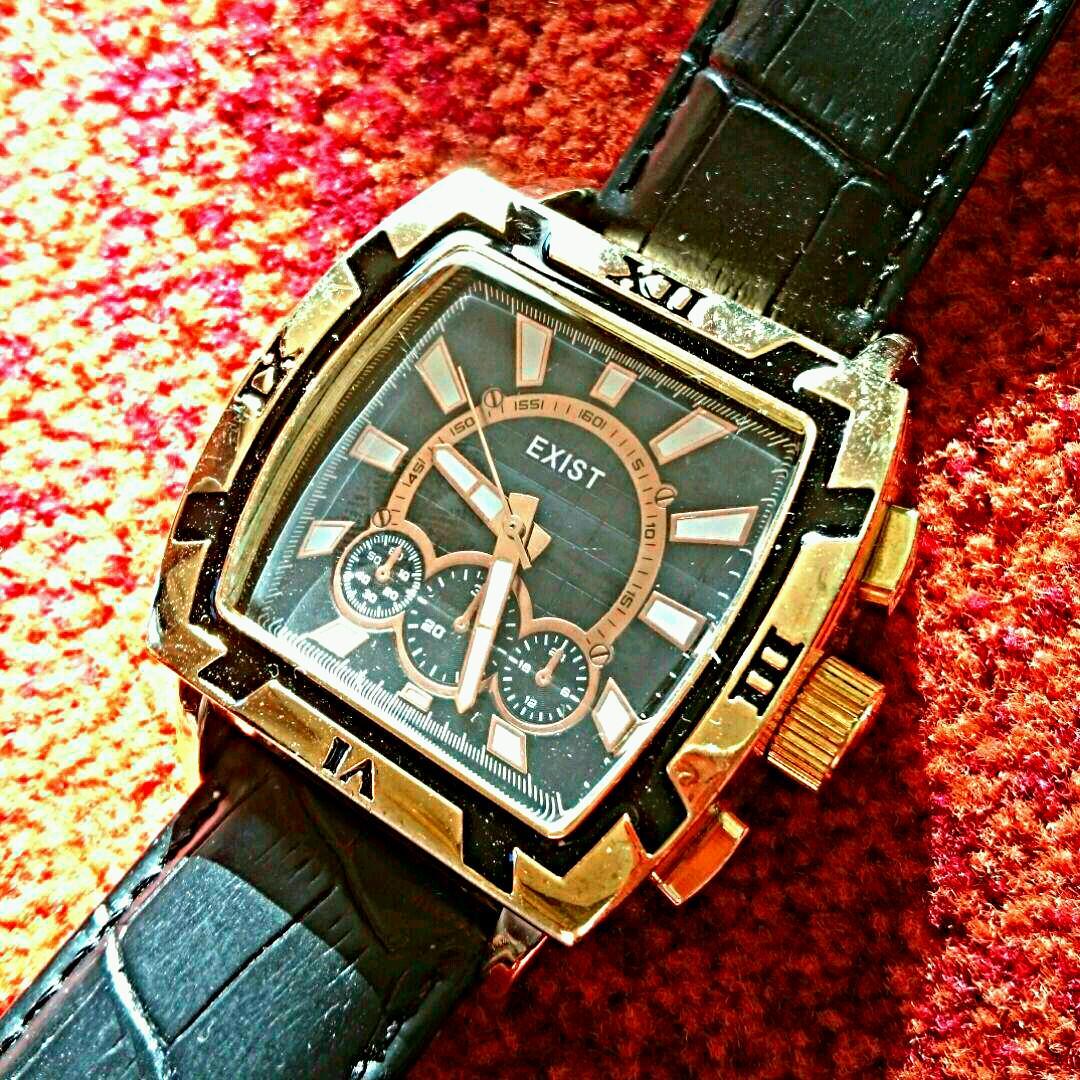 promo code a460f 2753c 【未使用品】j-axis exist メンズ 腕時計 スクエア ブラック(¥1,800) - メルカリ スマホでかんたん フリマアプリ