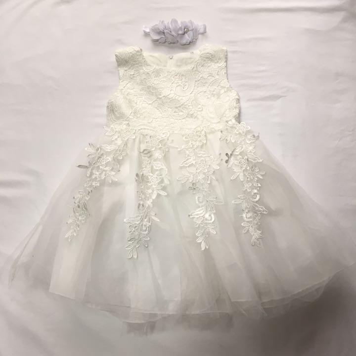 59c8790d212d0 メルカリ - 80cm ベビードレス フォーマル 女の子 結婚式 新生児 出産 ...