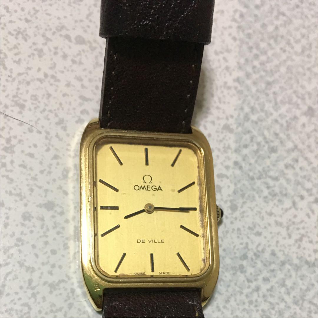 buy online 21989 9acb9 オメガ レディース 腕時計ケース付き(¥13,680) - メルカリ スマホでかんたん フリマアプリ