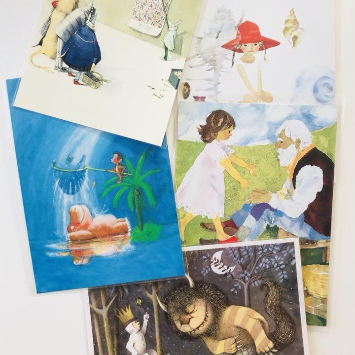 メルカリ いわさきちひろ 他絵本イラスト ポストカード 5枚セット