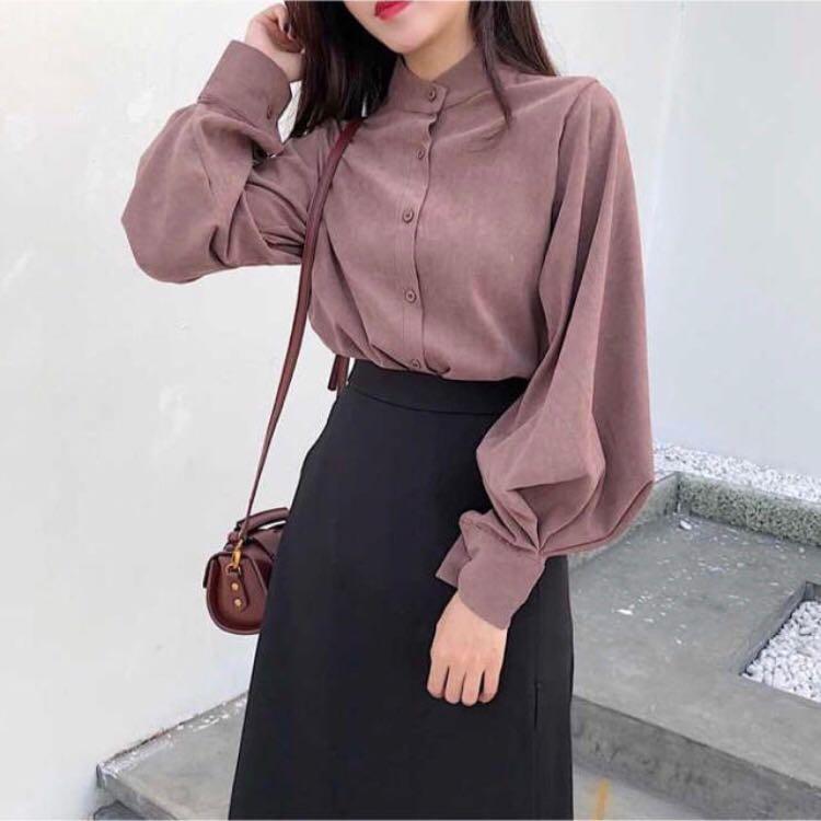 【残り2点✨】韓国ファッション 秋服 ブラウス(¥2,980) , メルカリ スマホでかんたん フリマアプリ