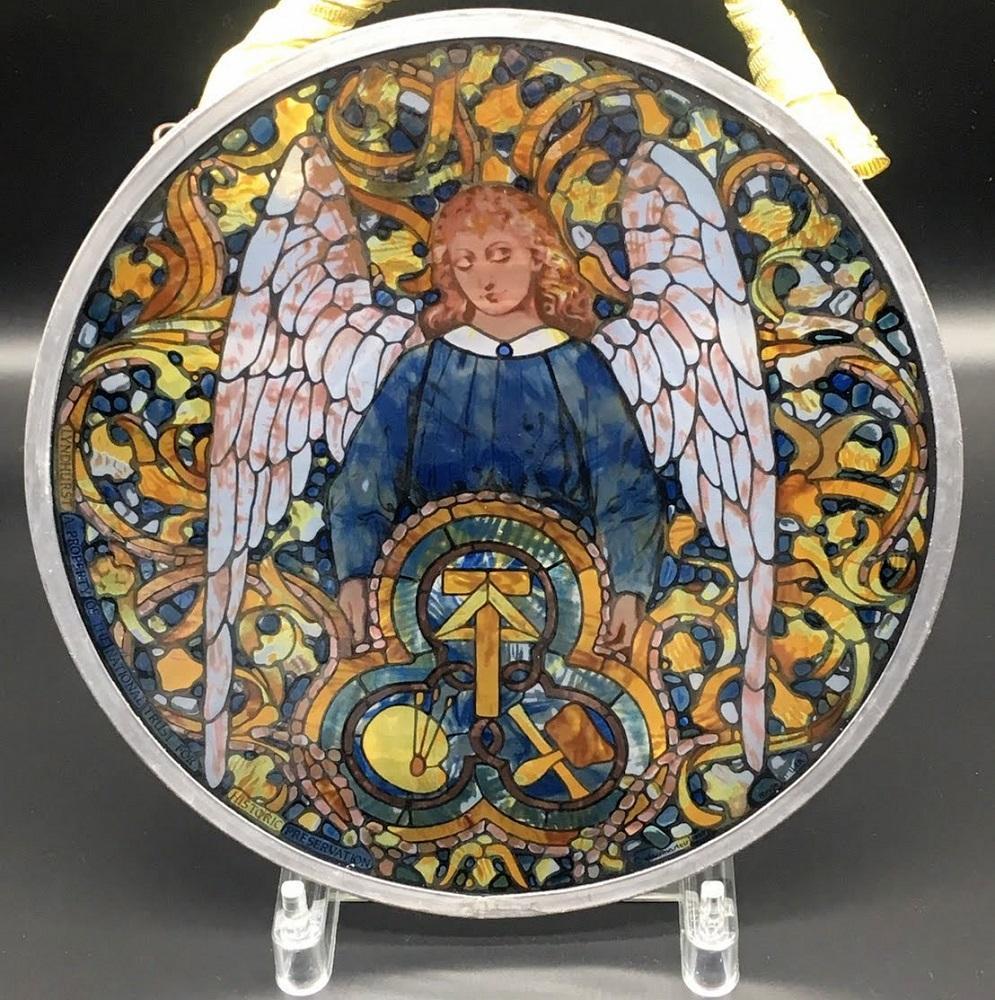 best loved e021f 29421 グラスマスターズ社 ステンドグラス 天使 ルイス・C・ティファニー(¥16,000) - メルカリ スマホでかんたん フリマアプリ