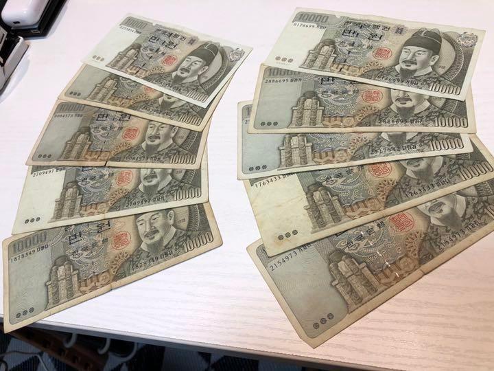 円 ウォン 日本 一 万