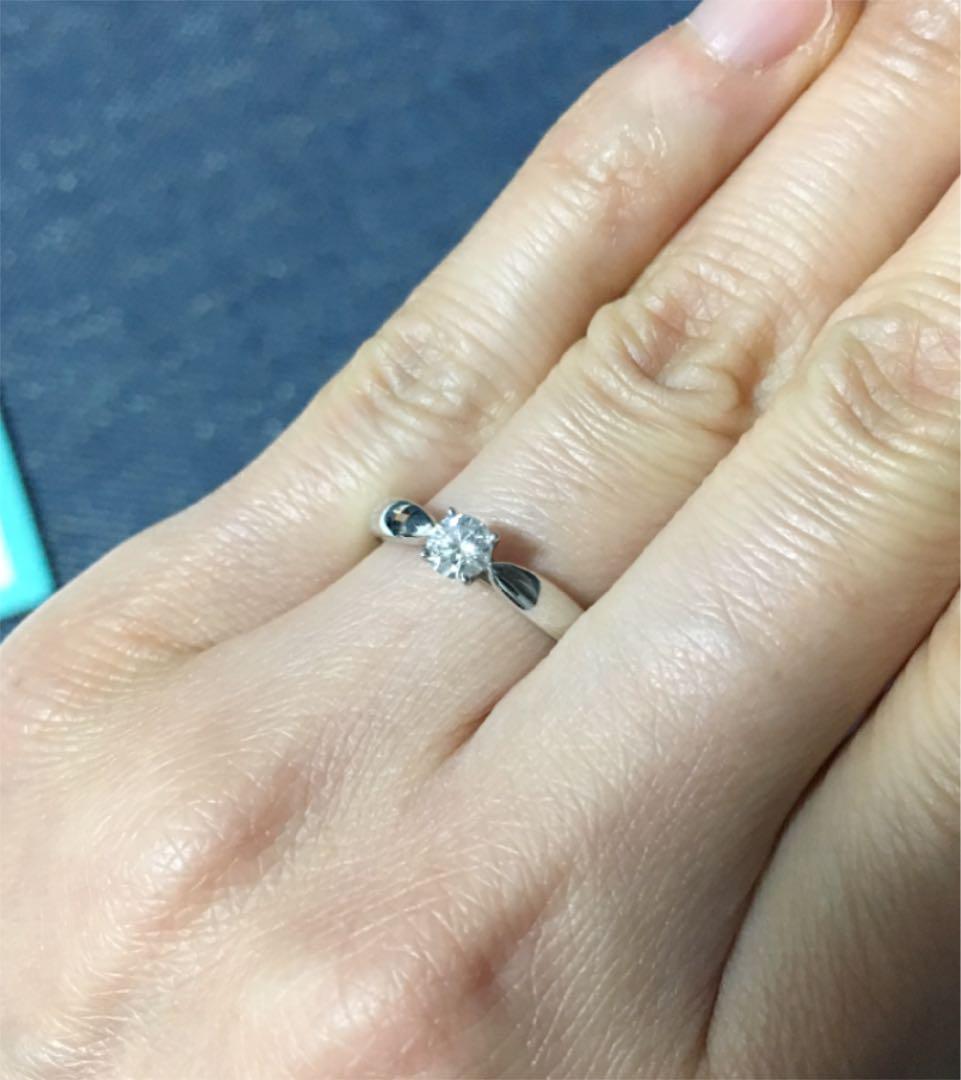 huge discount 0d000 34057 ティファニー 婚約指輪 0.24カラット(¥85,000) - メルカリ スマホでかんたん フリマアプリ