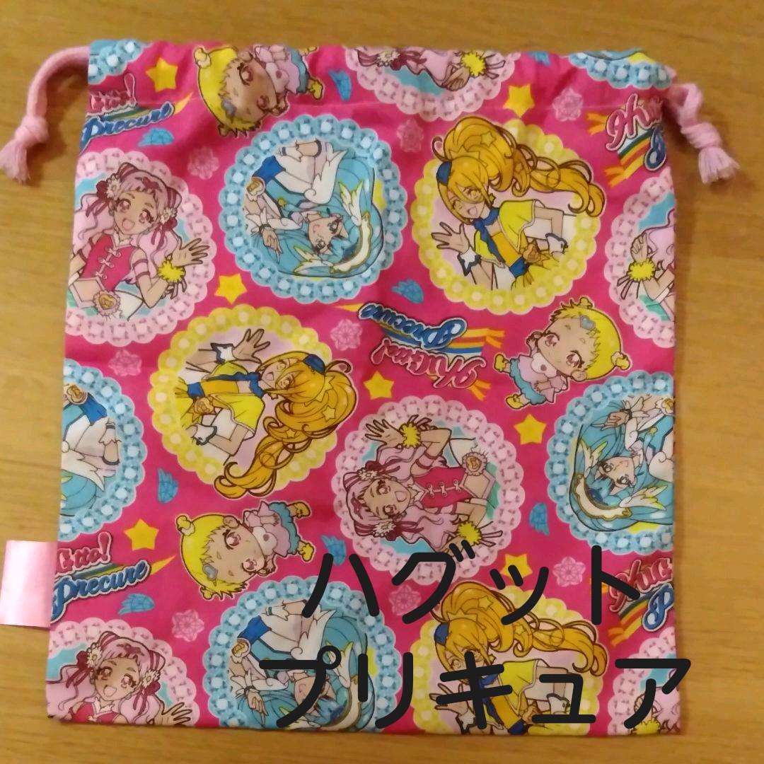 メルカリ ハグットプリキュア 巾着 キャラクターグッズ 699