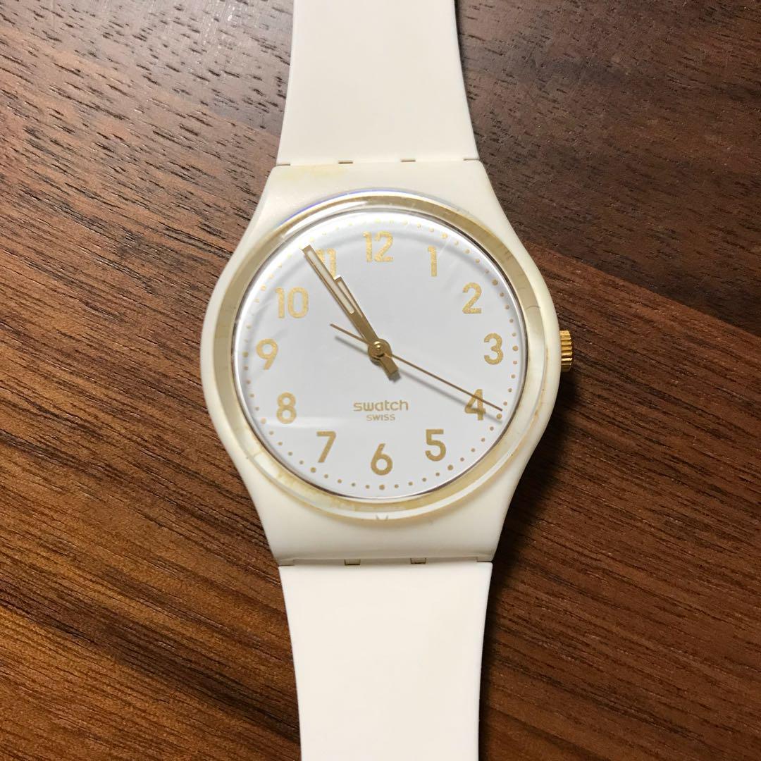 62692aa3e0 メルカリ - swatch 腕時計 白 レディース 【腕時計(アナログ)】 (¥1,800 ...
