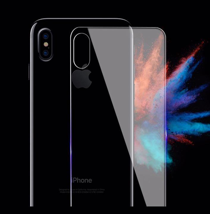 メルカリ - 背面ガラスフィルム 0.3m 9H iPhoneXsMax対応 他サイズ有り ...