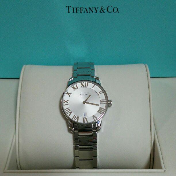 info for 0cbf1 5f127 ティファニーアトラス腕時計 レディース(¥130,000) - メルカリ スマホでかんたん フリマアプリ