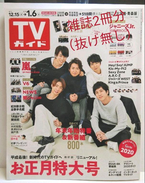 テレビ ガイド お正月 特大 号 2020
