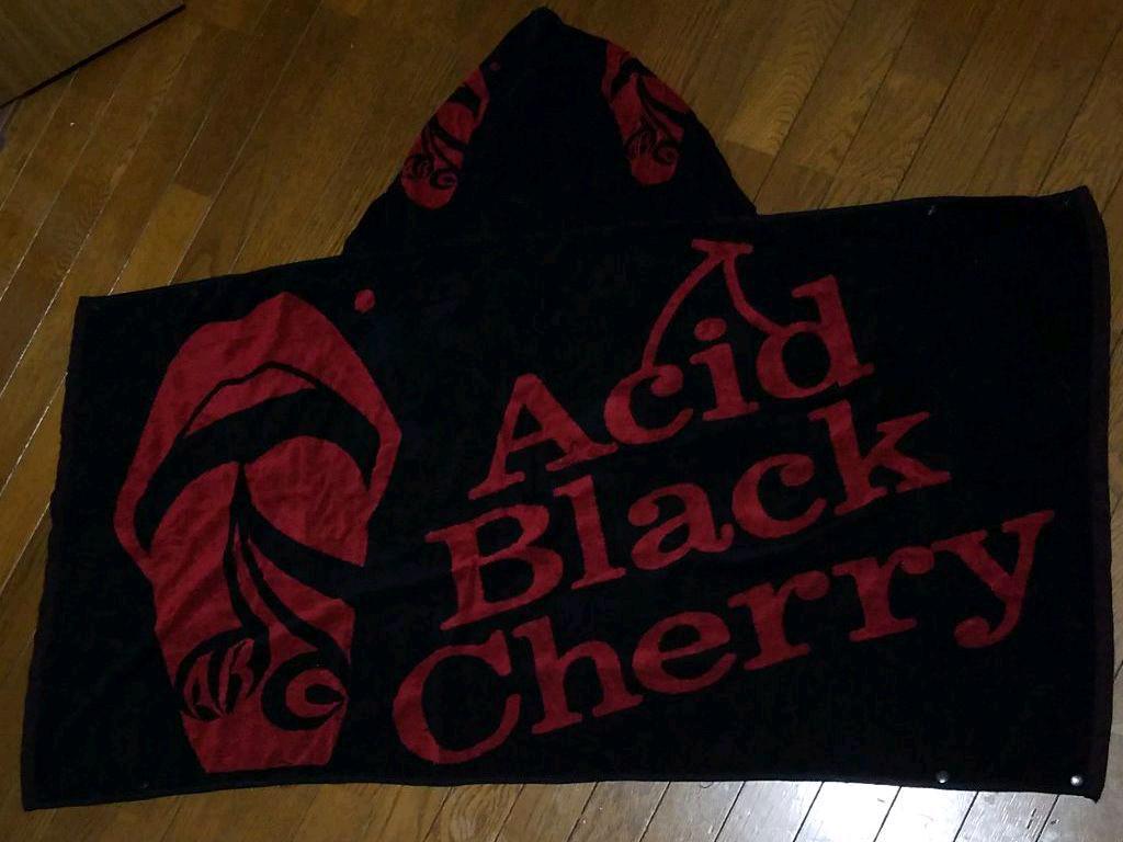 メルカリ Acid Black Cherry フード付きタオル ミュージシャン