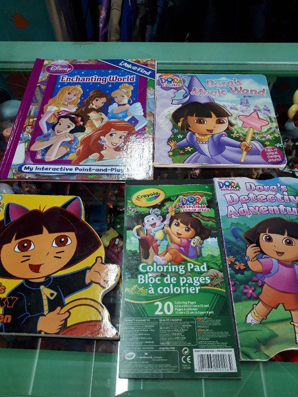メルカリ 海外 絵本 Dora プリンセス 塗り絵 英語の絵本 英語の勉強