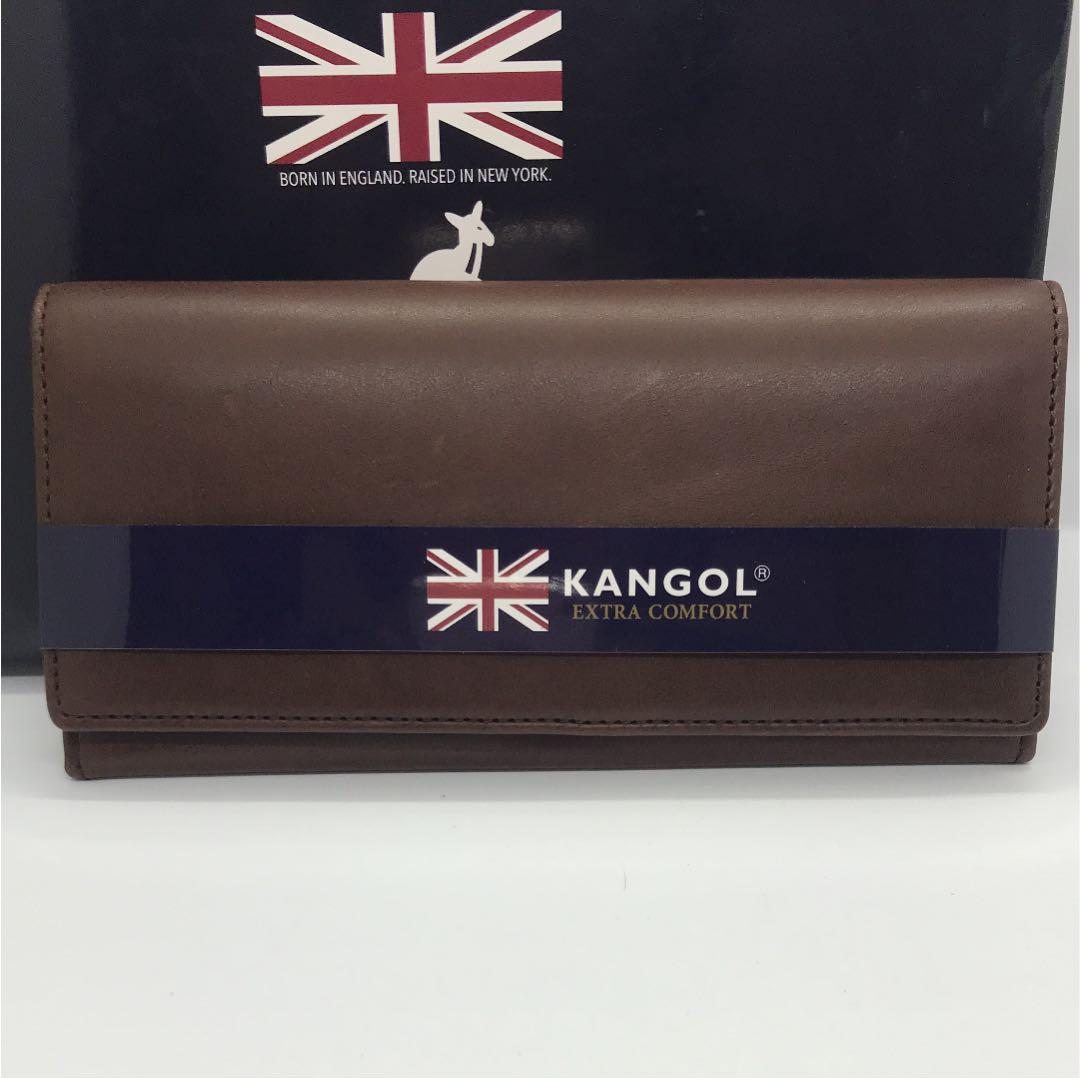 size 40 58ec5 bca39 長財布 KANGOL 新品 イタリアンレザー(¥1,800) - メルカリ スマホでかんたん フリマアプリ