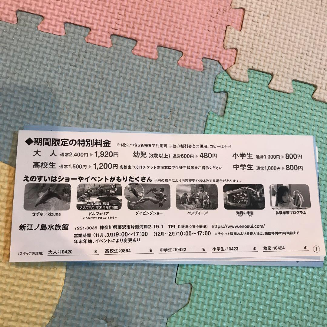 江ノ島水族館 クーポン