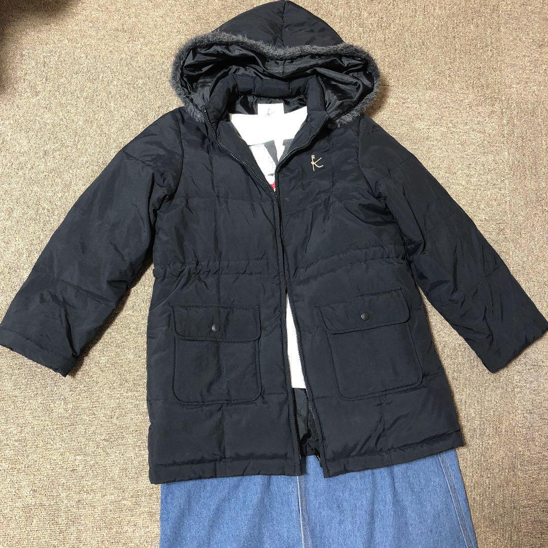 7d8e099551cde メルカリ -  組曲 ダウンジャケット(130cm~140cm)  ジャケット 上着 ...