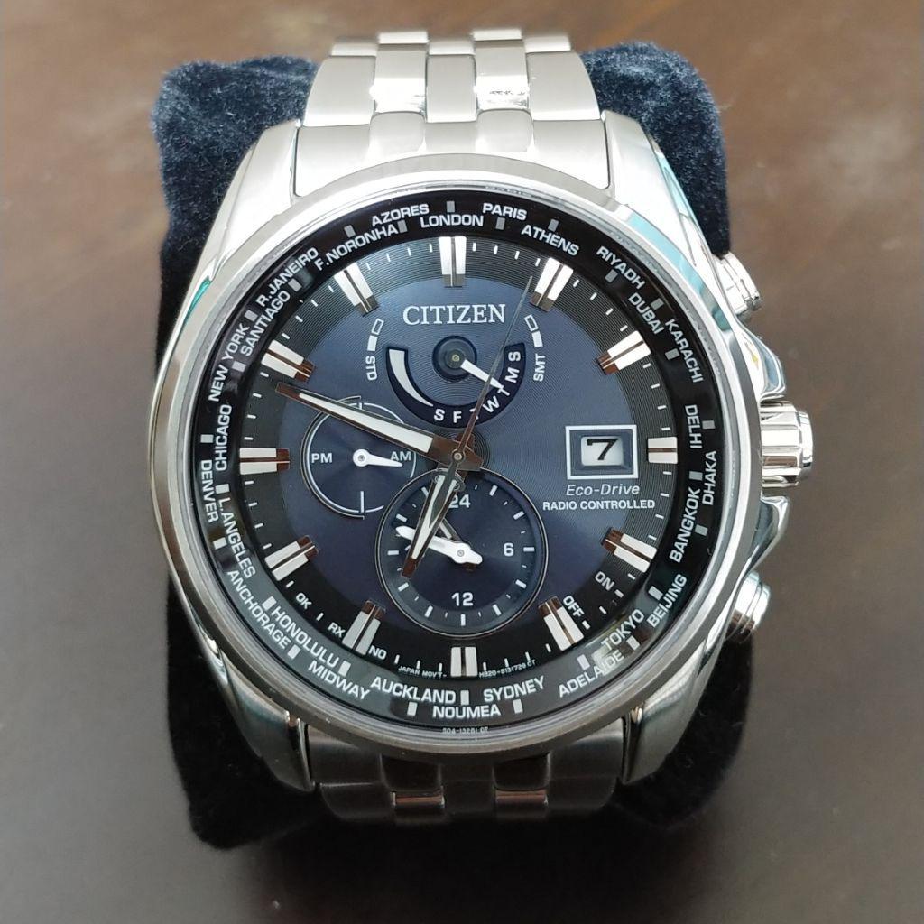 04796a1a62 メルカリ - シチズン エコドライブ AT9030-80L 海外アテッサ 腕時計 ...