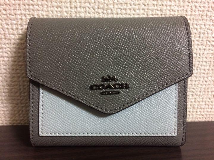 quality design fd393 d12f6 【美品】COACH コーチ スモール ウォレット カラーブロック 折り財布(¥7,777) - メルカリ スマホでかんたん フリマアプリ