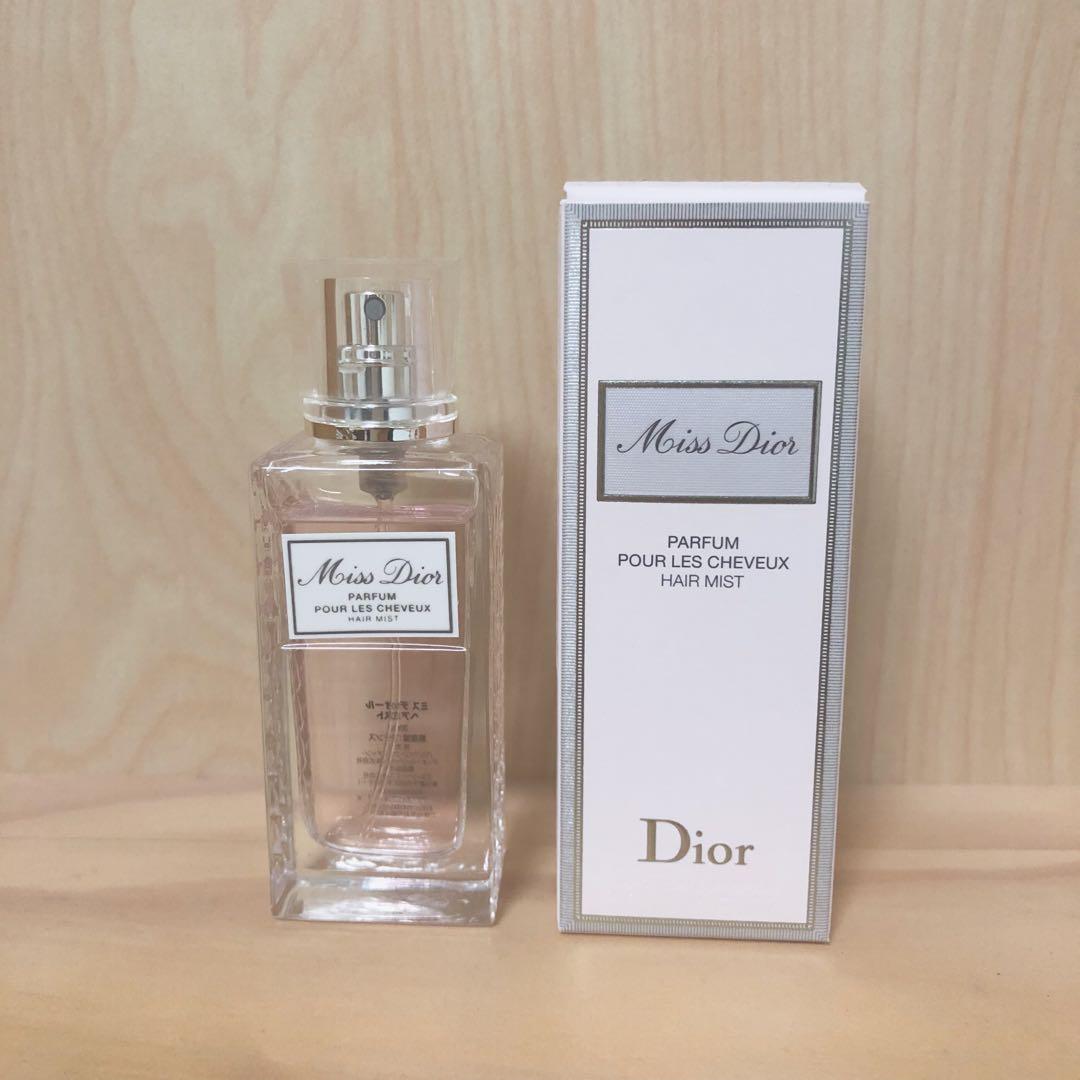 finest selection c6630 f0b34 Miss Dior ミスディオール ヘアミスト(¥3,000) - メルカリ スマホでかんたん フリマアプリ