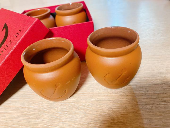 プリン 壺