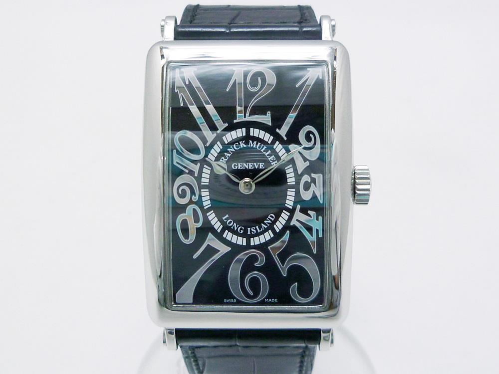 separation shoes 0decf 25453 フランクミュラー ロングアイランド レリーフ メンズ腕時計 自動巻き 黒文字盤(¥564,800) - メルカリ スマホでかんたん フリマアプリ