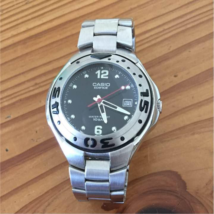 81230ff088 メルカリ - CASIO ダイバーウォッチ EF-102 【腕時計(アナログ ...