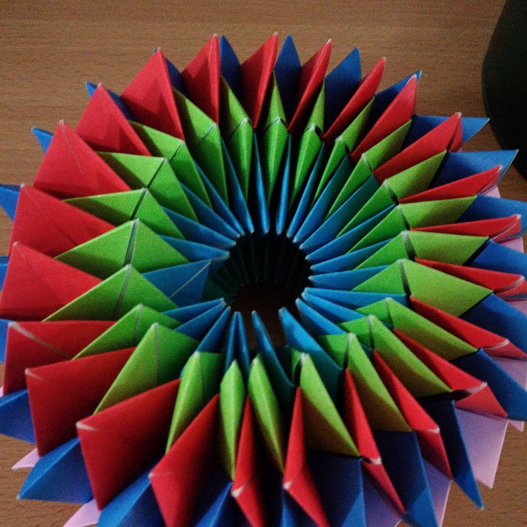 万華鏡 折り紙