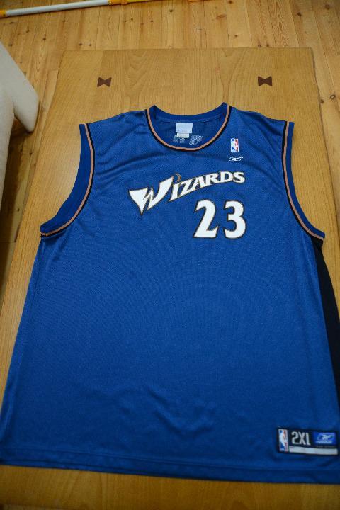 NBA ウィザーズ ジョーダン レプリカユニフォーム 2XL
