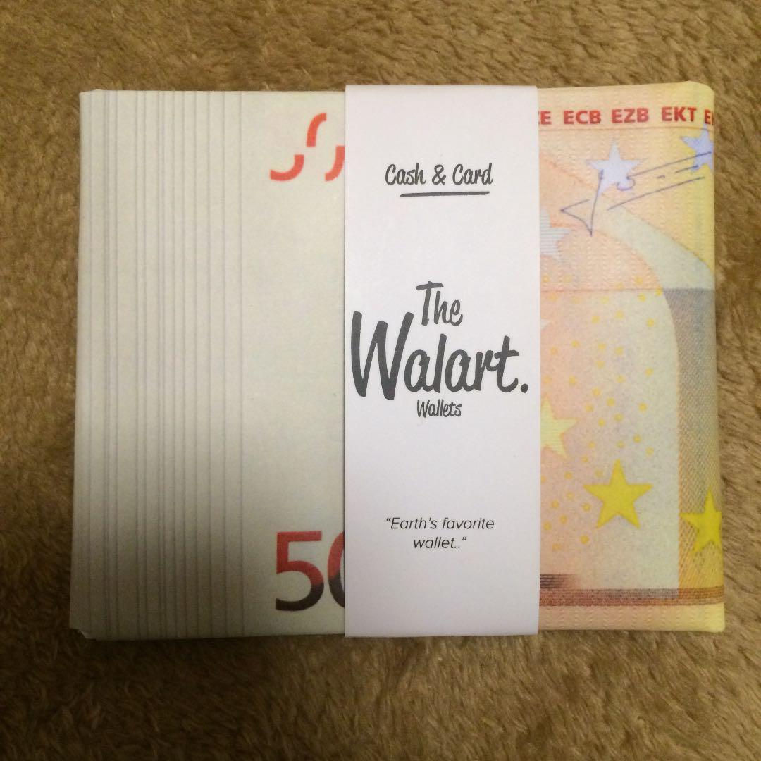buy online ca60e 11052 walart paper wallet ワラート ペーパーウォレット 紙財布(¥1,100) - メルカリ スマホでかんたん フリマアプリ