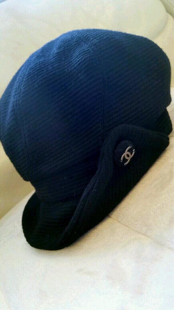 53092fa0ee7d 令和元年記念saleCHANELシャネル♡キャスケット♡帽子♡黒size57美品