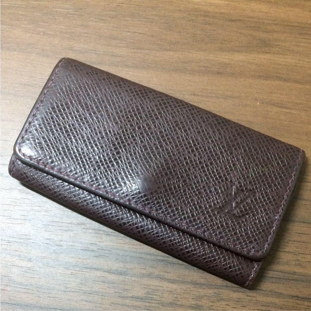 ルイヴィトン キーケース タイガ アカジュー M30526 1877c(¥3,000) , メルカリ スマホでかんたん フリマアプリ