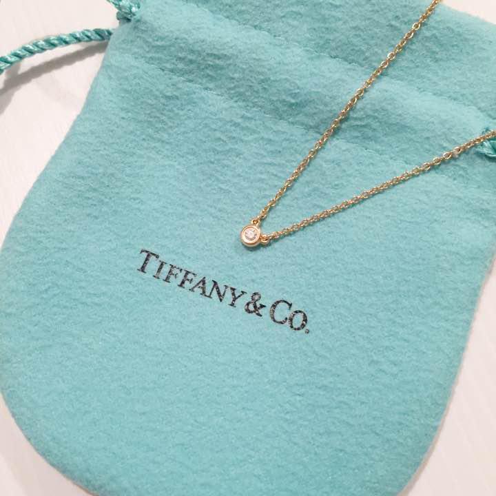 buy popular b1646 67f29 ティファニー一粒ダイヤネックレス♡(¥23,000) - メルカリ スマホでかんたん フリマアプリ