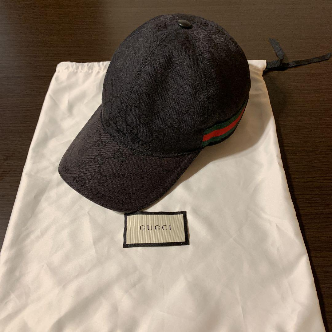 huge selection of c7b85 1410a 正規良品【GUCCI/グッチ】帽子 シェリーライン×GG柄(¥27,000) - メルカリ スマホでかんたん フリマアプリ