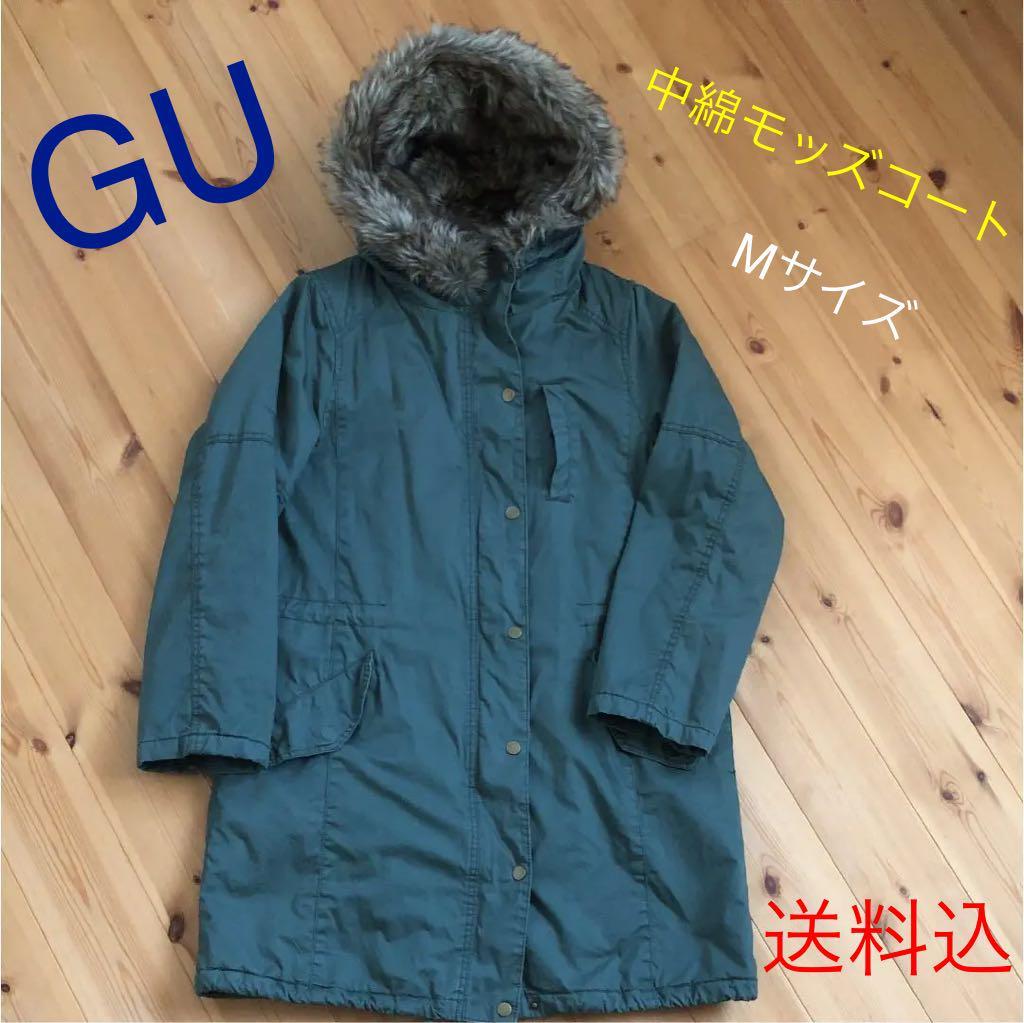 91a7eccf1b7af メルカリ - GU 中綿モッズコート  ジーユー  (¥2