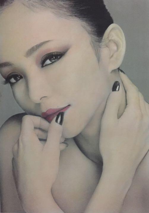 メルカリ すみっコ 安室奈美恵 色鉛筆画 イラスト A3 アート