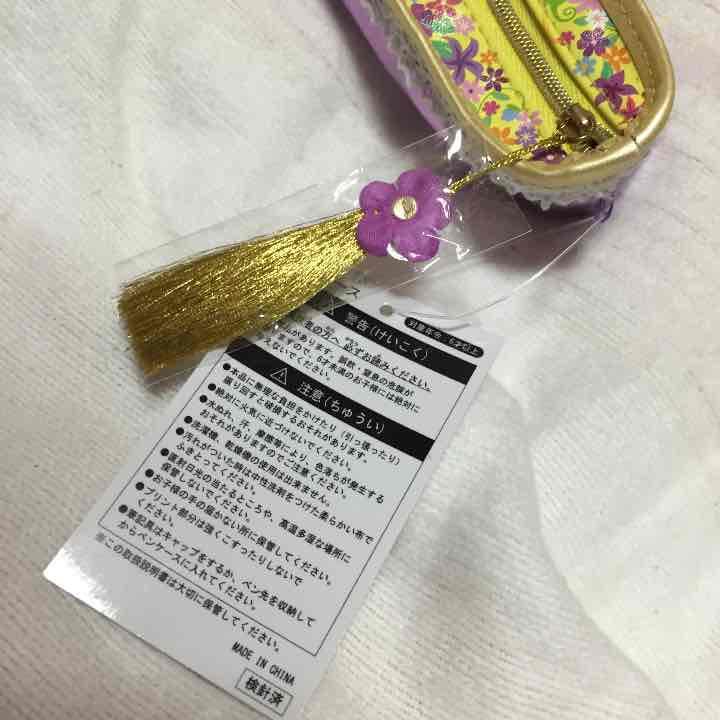ラプンツェル シューズペンケース 筆箱 TDL TDS 東京ディズニーランド(¥1,600) , メルカリ スマホでかんたん フリマアプリ