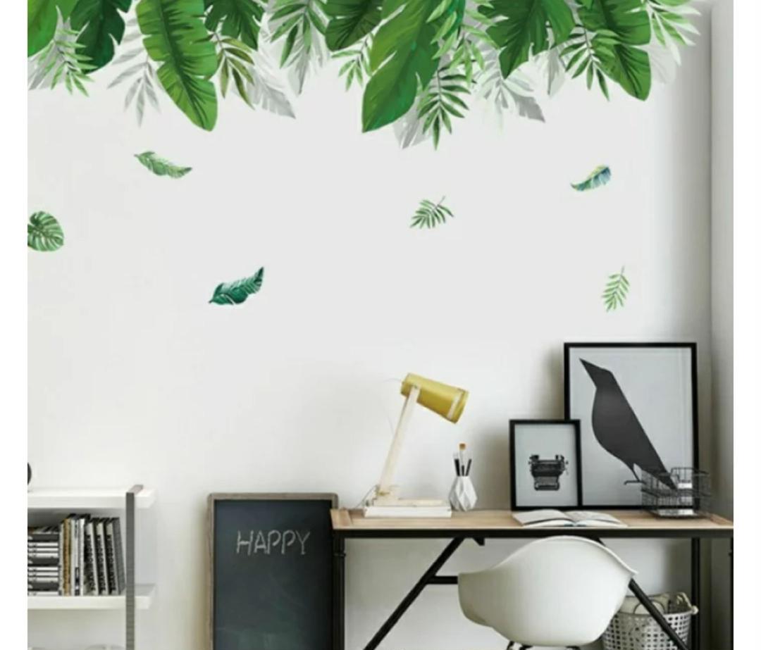 メルカリ 34 ボタニカル グリーン 植物 ウォールステッカー 壁紙シール インテリア小物 1 280 中古や未使用のフリマ