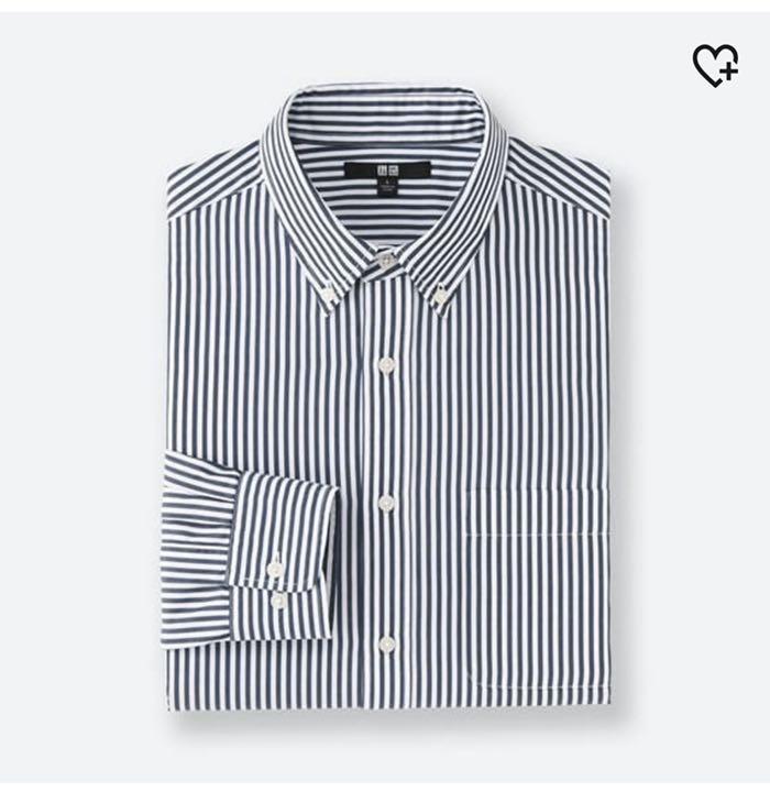 エクストラファインコットンブロードストライプシャツ