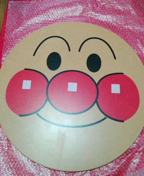 アンパンマン顔テーブル