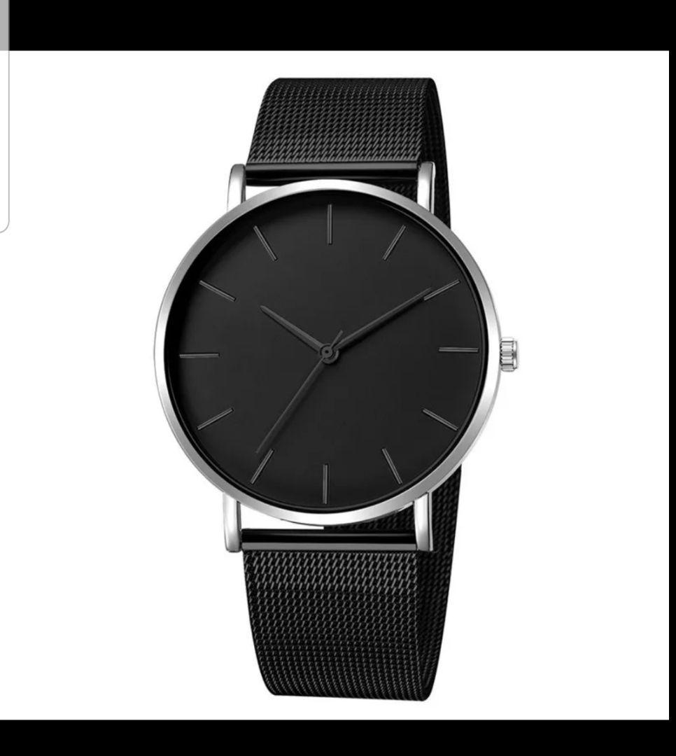 meet 99b00 103cb メンズ レディース シンプル 腕時計(¥850) - メルカリ スマホでかんたん フリマアプリ