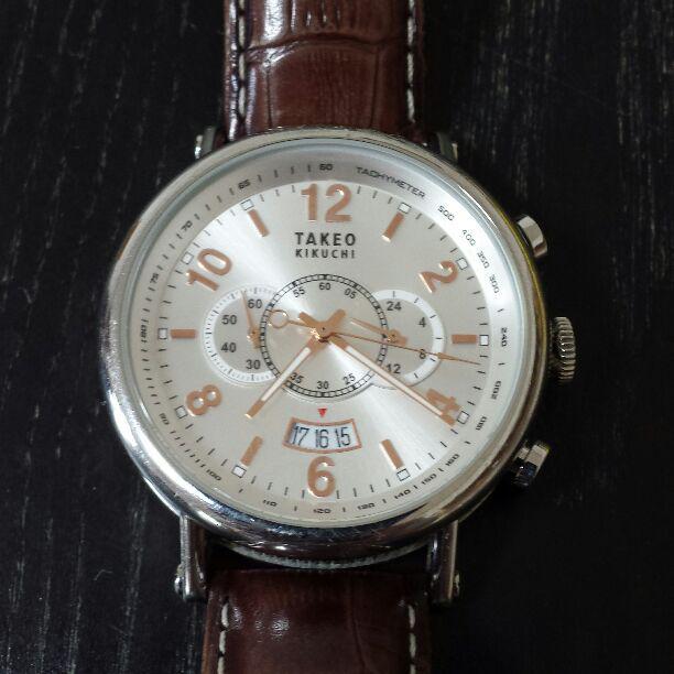 buy online 52b63 71d05 タケオキクチ 時計 TK-20G9(¥4,999) - メルカリ スマホでかんたん フリマアプリ