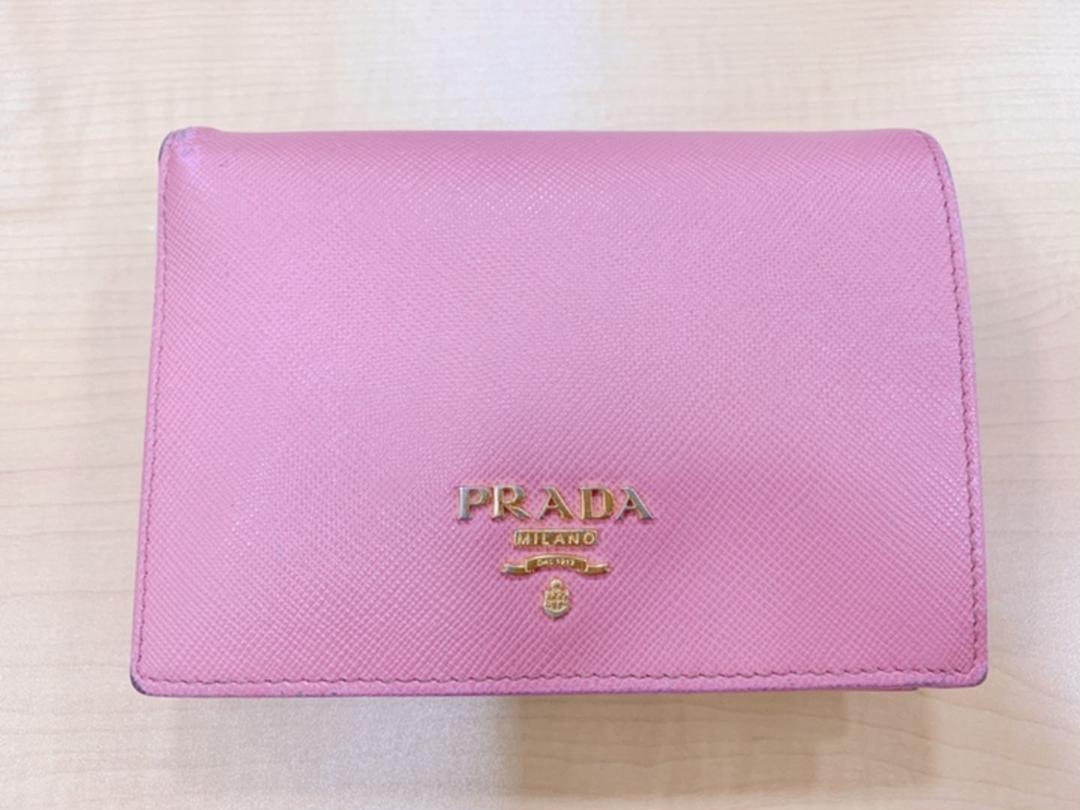 wholesale dealer 868bf 1ab7d PRADA プラダ 財布 ピンク(¥15,000) - メルカリ スマホでかんたん フリマアプリ