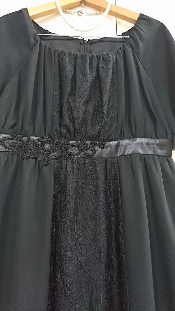 abc414e29e81f メルカリ - マルイ ru フォーマル レースが素敵な 上品 ドレス Lサイズ ...