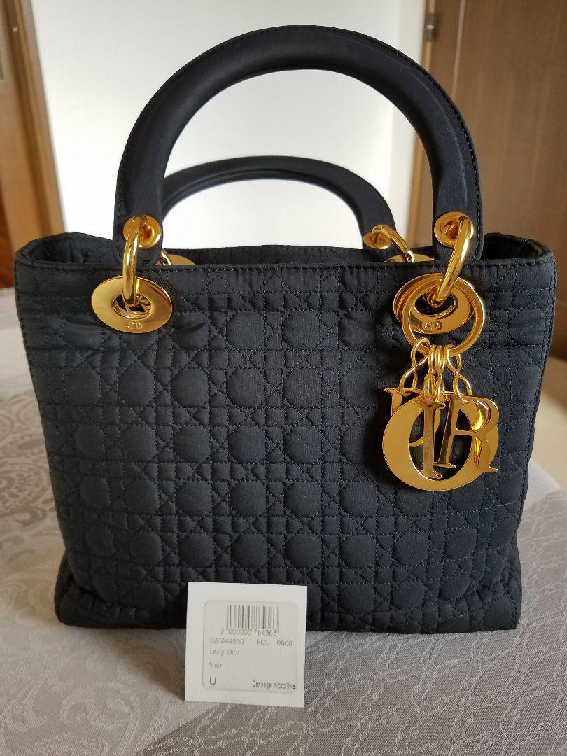 wholesale dealer 98424 7f3bf Dior レディディオール ハンドバッグ(¥23,000) - メルカリ スマホでかんたん フリマアプリ
