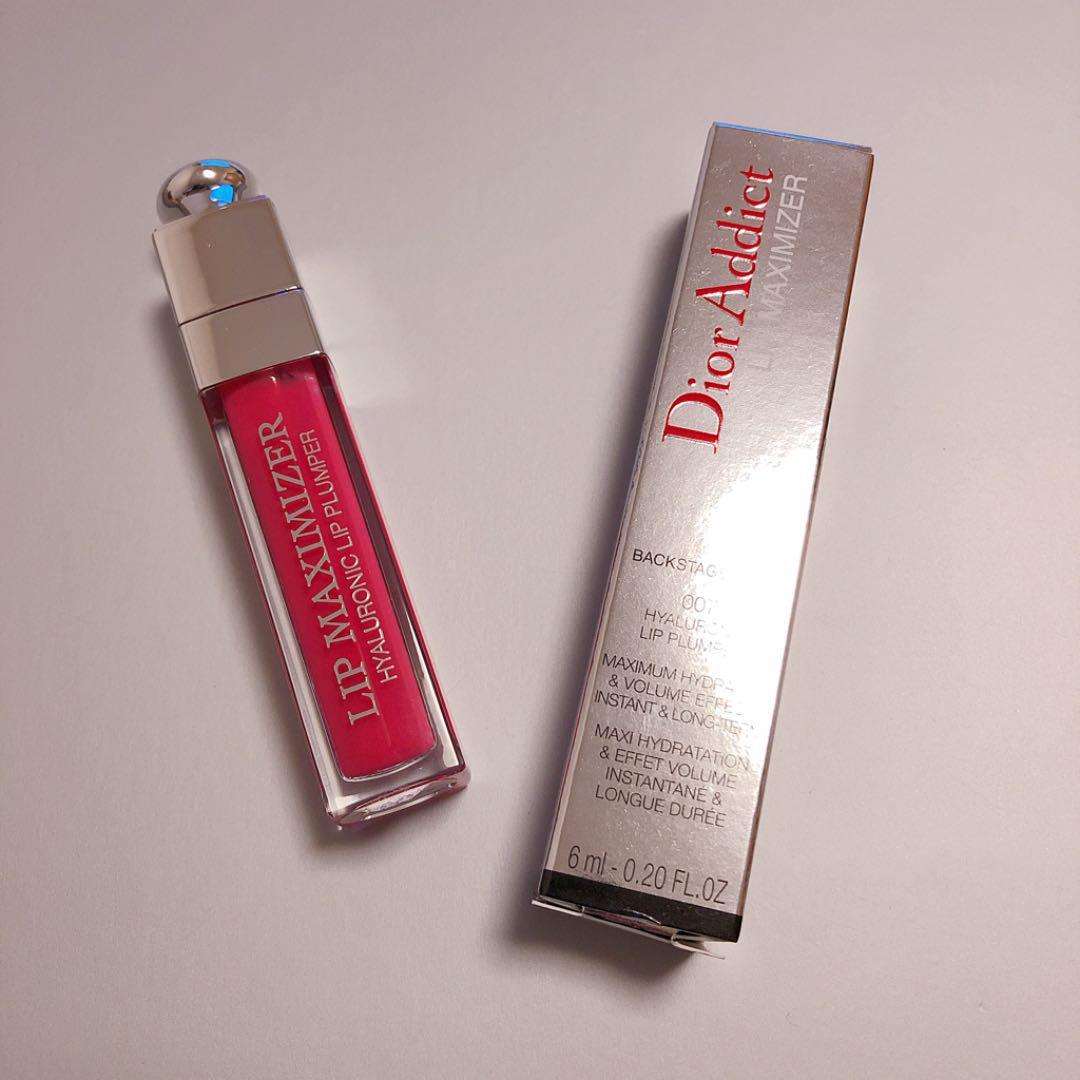 low priced 4f157 b9f56 Dior マキシマイザー 07 ラズベリー リップ プランパー(¥3,000) - メルカリ スマホでかんたん フリマアプリ